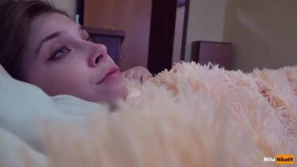 Русская малышка проснулась и потрахалась с братиком